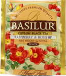 Basilur Raspberry and Rosehip 100пак.